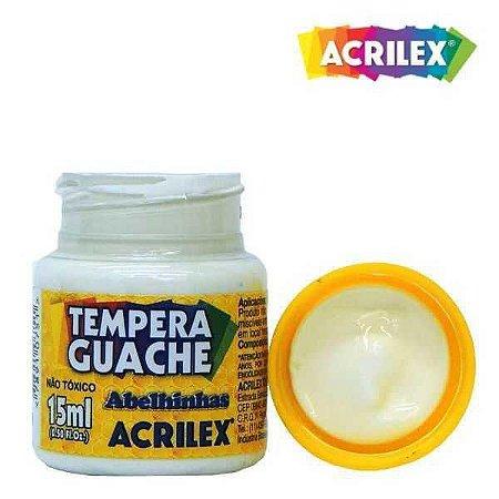 TINTA GUACHE ACRILEX 15ML BRANCA