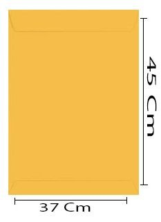 ENVELOPE 370X450 OURO UNI A3