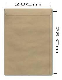 ENVELOPE 200X280 KRAFT UNI