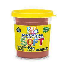 MASSA DE MODELAR SOFT 150G CHOCOLATE