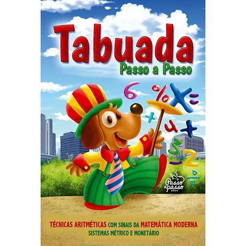 LIVRO TABUADA DE MULTIPLICACAO - PASSO A PASSO