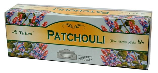 Incenso Patchouli - Caixa com 8 varetas.