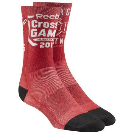 MEIA REEBOK CROSSFIT GAMES 2017 RED