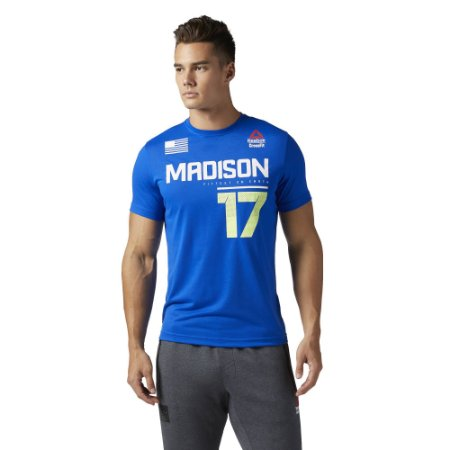 ffbf1c72376 CAMISETA REEBOK CROSSFIT GAMES 2017 - MADISON 17 - Rei do Wod