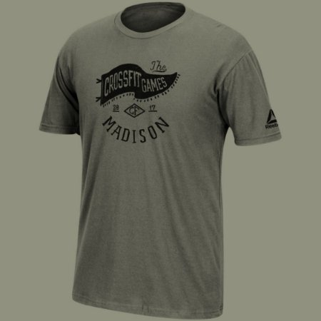 CAMISETA REEBOK CROSSFIT GAMES 2017 HISTORY MADISON