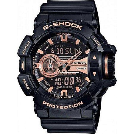 49e47085865 RELÓGIO CASIO - G-SHOCK - GA-400GB-1A4DR - Rei do Wod