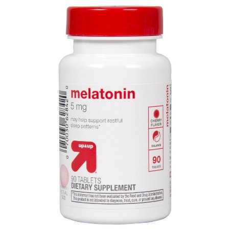 MELATONINA 5MG- 90 TABLETS - UP & UP™
