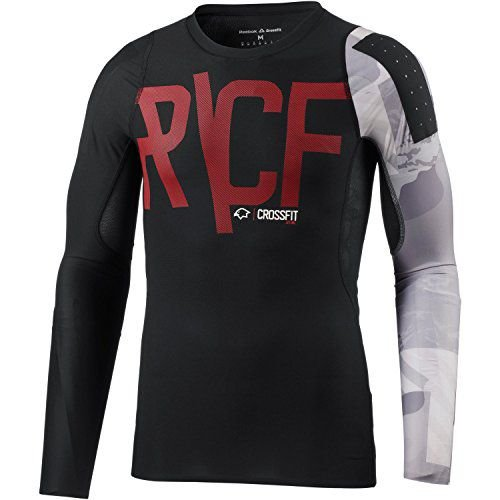 Camiseta de Compressão Manga Longa Reebok RCF