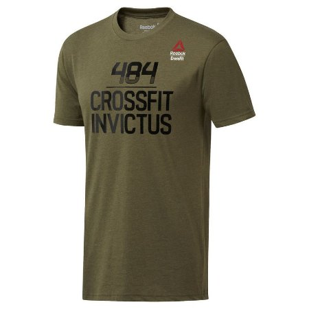 a96921f12c1 CAMISETA REEBOK CROSSFIT GAMES 2018 -INVICTUS - Rei do Wod
