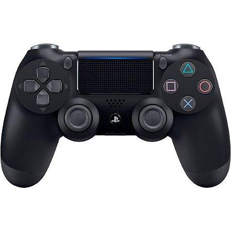 Controle Dualshock 4 Sem Fio Preto - Com led frontal - PS4