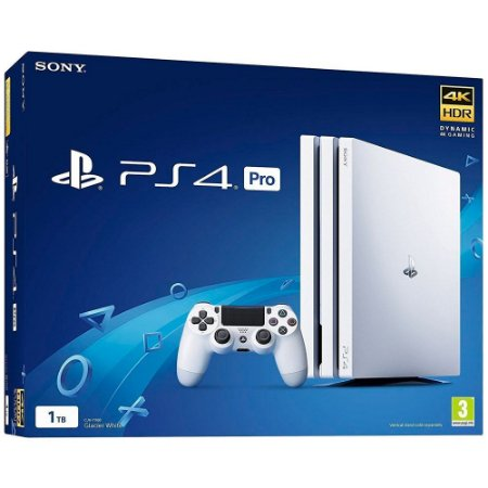Sony Playstation 4 PRO 1TB Branco com God of War 3