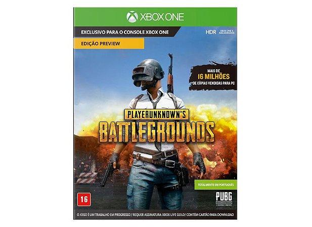 Jogo PlayerUnknown's Battlegrounds Xbox One PUBG - Mídia digital 25 dígitos