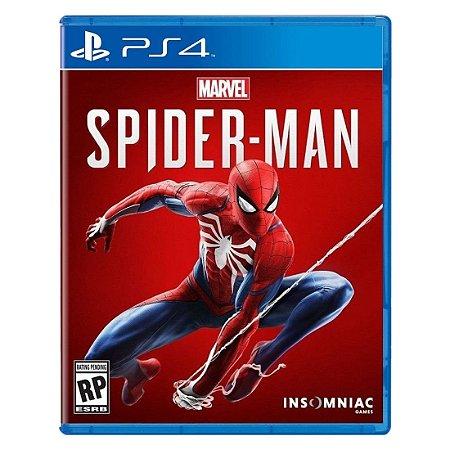 Jogo Marvel's Spider-Man PS4