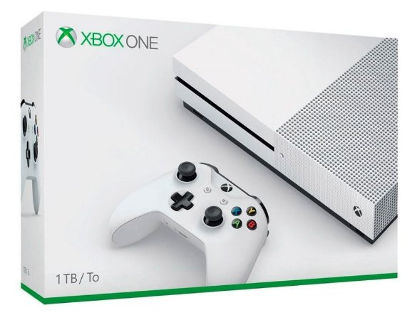 Microsoft Xbox One S Branco 1TB com jogo Assassins Creed Unity