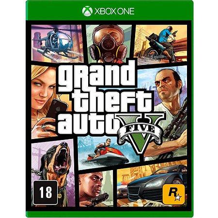 Jogo Grand Theft Auto V GTA 5 - Xbox One