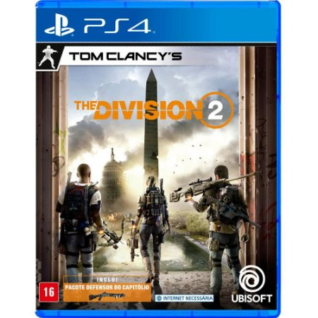 Jogo Tom Clancy`s The Division 2 - PS4