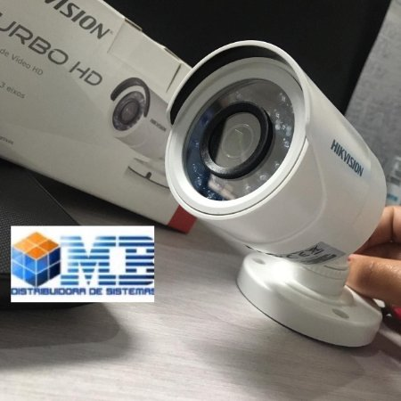 Câmera Bullet Hikvision DS-2CE16COT-IRPF Turbo HD 720P Lente 2.8mm