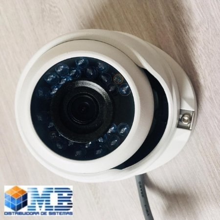 CAMERA HIKVISION DOME TURBO DS-2CE56COT-IRPF2.8MM HD720P.1MP.LENTE