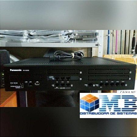Pabx Panasonic Kx-ns500 6 Linhas, 16r Analógicos 2r Digitais