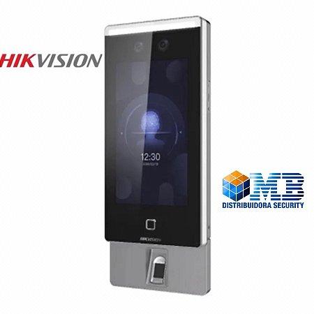 Controle Acesso Facial Biométrico Hikvision Ds-k1t671mf Full