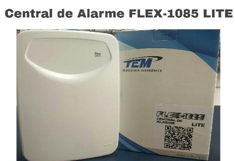 CENTRAL DE ALARME FLEX WIFI 1085 LLITE TEM COM MONITORAMENTO APP