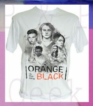 Camiseta - Orange Is The New Black