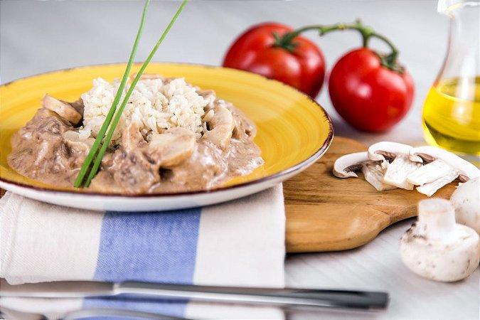 Strogonoff de Carne com Arroz Integral  - 200grs