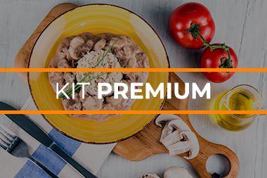 Kit Marmita Fit Premium - 20 Unidades - 200g/cada
