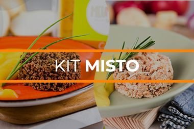 Kit  Fit Carne e Frango - MENSAL - 60 unidades