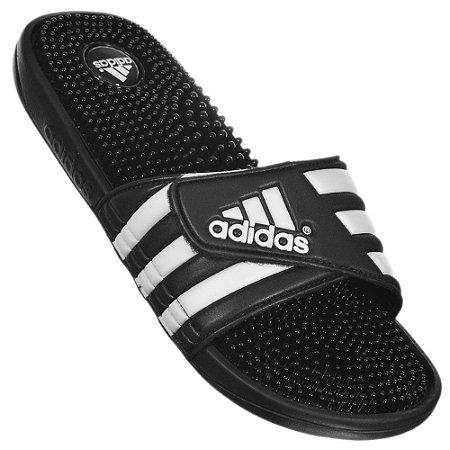 Chinelo Adidas Adissage - Preto/Cinza - Pronta Entrega
