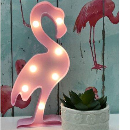 Luminária de Flamingo