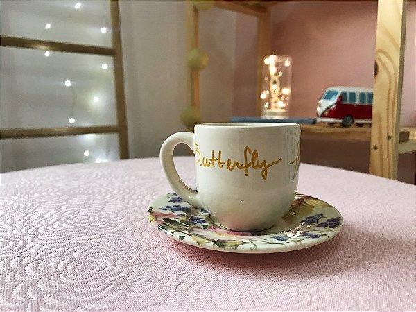 Xícara de café Butterfly