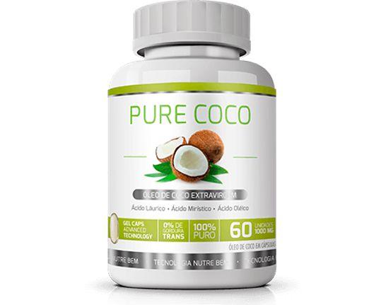 Pure Óleo de Coco Ekobé 60 Cáps