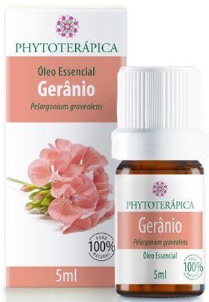 Óleo Essencial de Gerânio|Phytoterápica  5ml