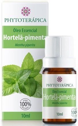 Óleo Essencial de Hortelã-Pimenta|Phytoterápica 10ml