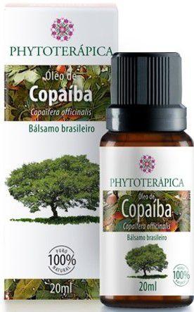 Óleo Vegetal de Copaíba|Phytoterápica 20ml