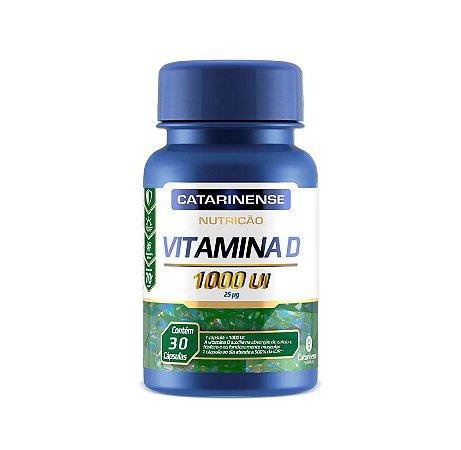 Vitamina D - Nutrição 1000 UI| Catarinense 60 Cáps