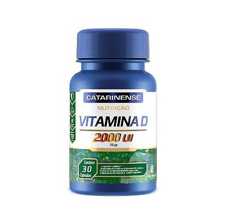 Vitamina D - Nutrição 2000 UI  Catarinense 30 Cáps