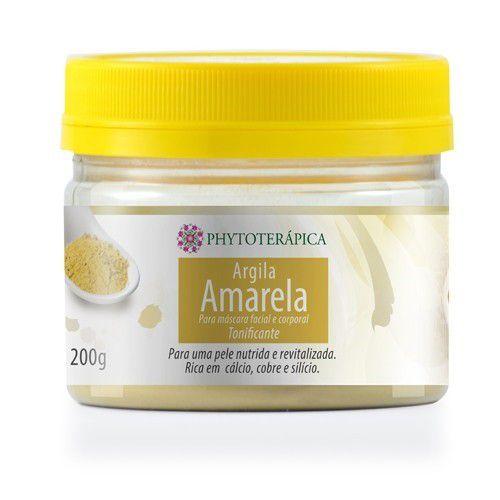 Argila Amarela|Phytoterápica 200g