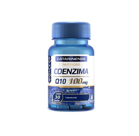 Coenzima Q10 100mg|30 Cáps Catarinense