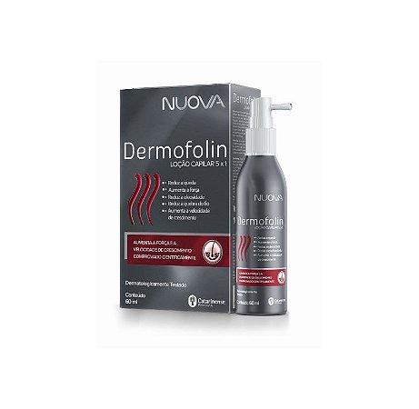 Dermofolin loção capilar 5X1  Nuova