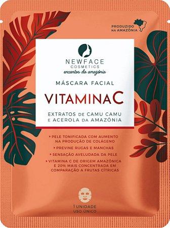 Máscara facial Vitamina C l NewFace Encantos da Amazônia