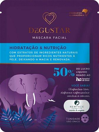Máscara Facial Hidratação e Nutrição l Degustar