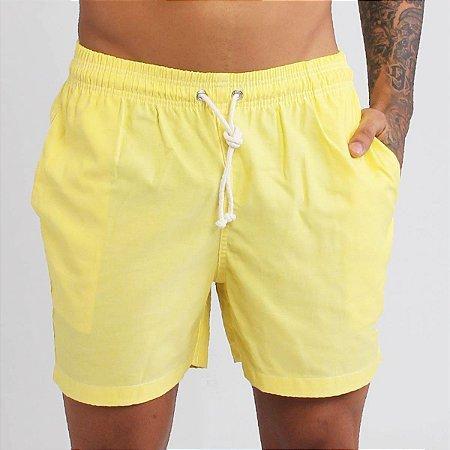 Short Liso - Amarelo
