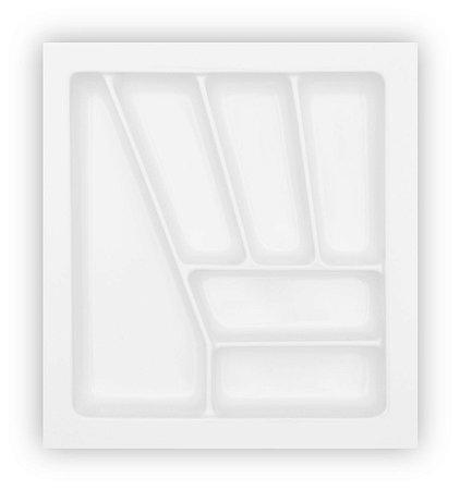MoldPlast - Organizador de Gaveta 36,9 x 40,7 cm Branco 2,0mm - OG-09