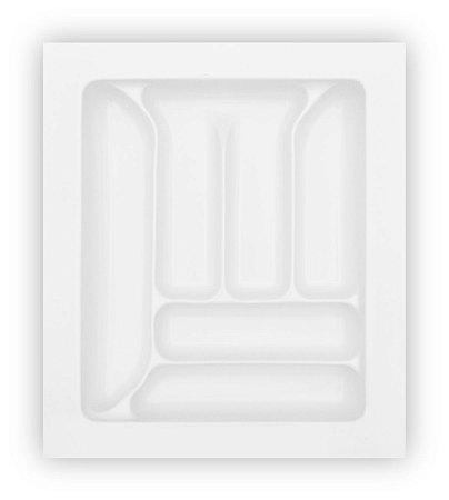 MoldPlast - Organizador de Gaveta 39,6 x 40,7 Branco 2,0mm - OG-02