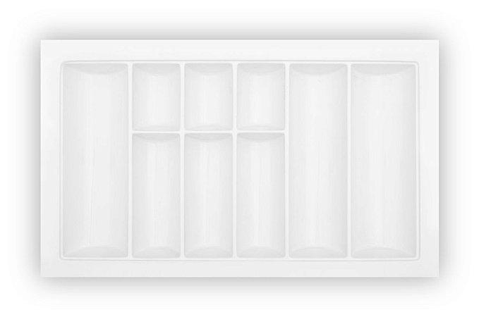 MoldPlast - Organizador de Gaveta 56 x 54 cm Branco 2,0mm - OG-81