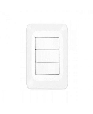 Legrand - 3 Interruptores Simples 4x2 - PIAL PoP