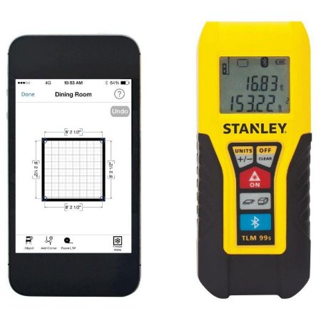 Medidor a laser com Bluetooth TLM99S 30m - (Trena Laser) Stanley