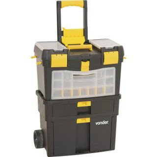 Caixa de Transporte de ferramentas c/ Rodas CRV 0100 e organizadores - Vonder